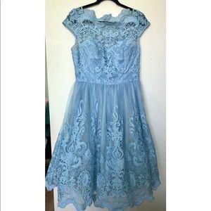 Chi Chi London premium lace dress